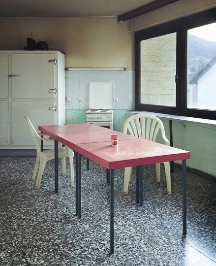 Pink Dining Table